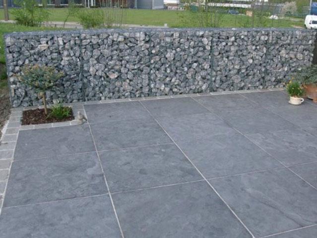 Natuursteen opritten parkings terrassen klinkers de vriendt for Aanleg oprit